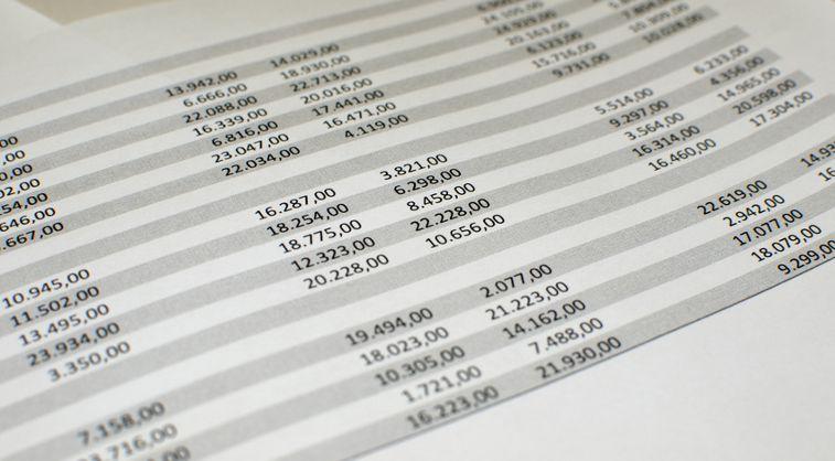 Envío y modificación de informes contables en Excel