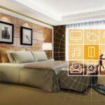 habitación de hotel del futuro